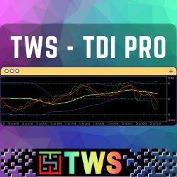 TWS – TDI PRO MT5 - This indicator is a personal implementation of the famous Traders Dynamic Index, which uses RSI, moving averages, and volatility bands to find trends, reversals, and price exhaustion.